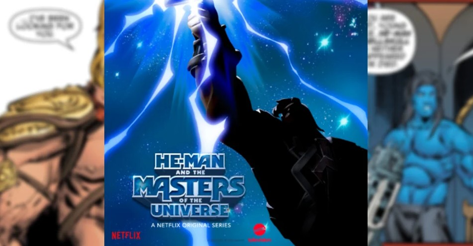 It looks like the New He-Man and the Masters of the Universe series coming to Netflix