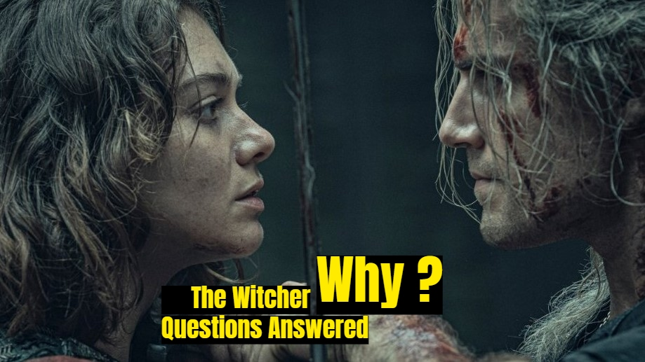 What happened to Jaskier, Feelings Between Geralt and Yennefer, Why is Geralt's Hair Gray and other many Questions Answered.