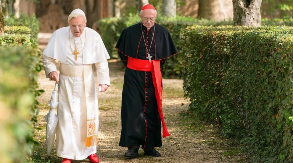 "This is the Review of Netflix's latest film ""The Two Popes (2019)"". Today we're talking about the brand new Netflix movie the two Pope's."